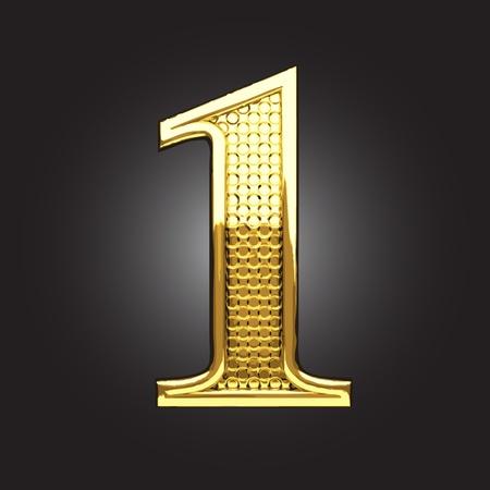 golden figure made in vector Stock Vector - 13571630