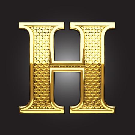 golden figure made in vector Stock Vector - 13571611