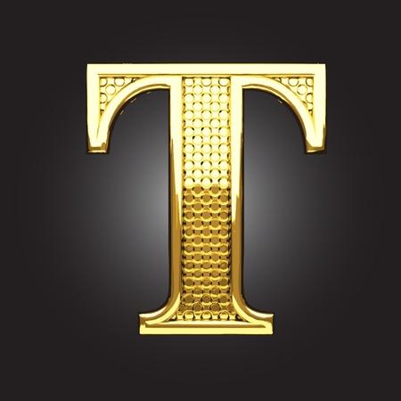 golden figure made in vector Stock Vector - 13571632