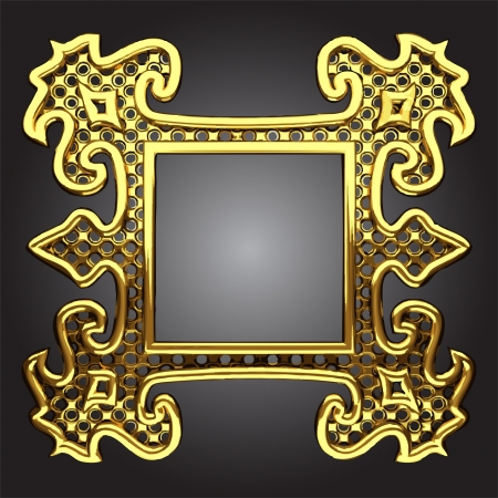 abstract frame Stock Vector - 13892293