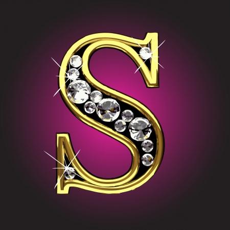 ダイヤモンド: ダイヤモンド ベクトルで行われたゴールデン図
