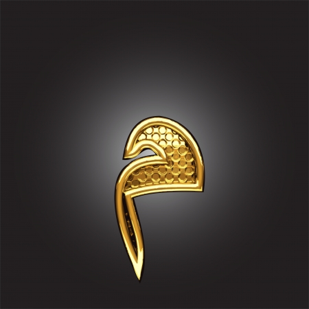 figura: ouro árabe figura