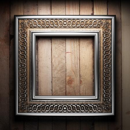 vintage photo border: vintage frame