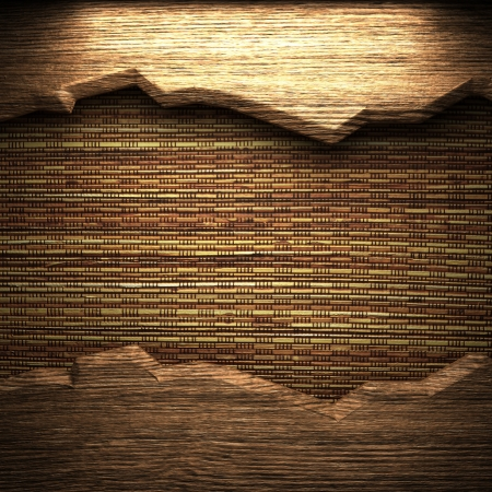 wood on the wall photo