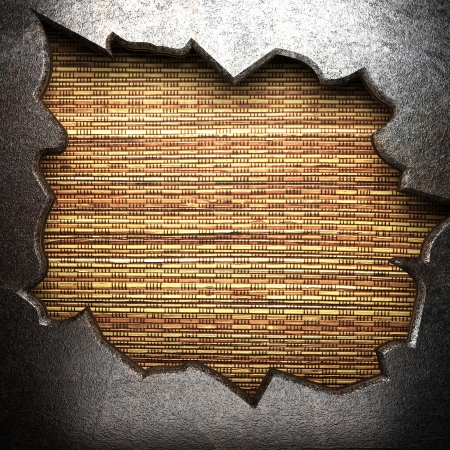 metal on wooden wall Stock Photo - 16077391