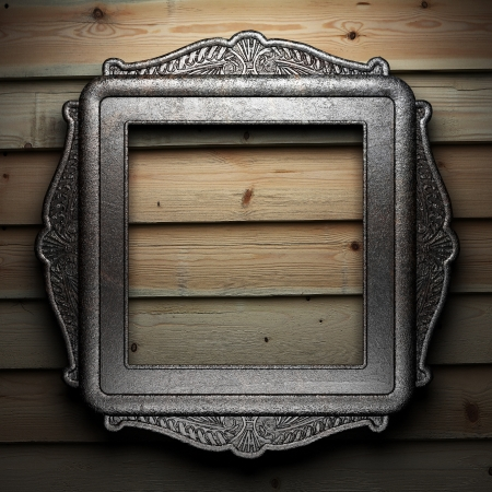 Antique ornament frame photo