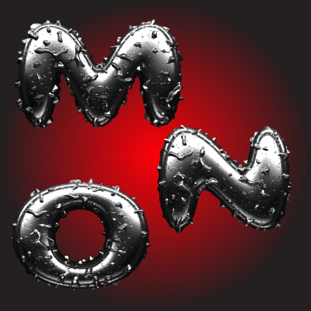 Metal figure