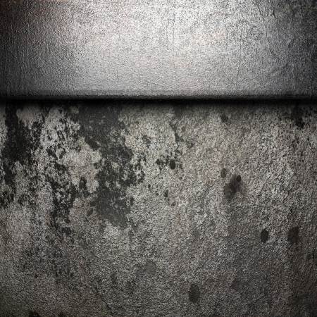 metal on wall made in 3D Stock Photo - 16687632