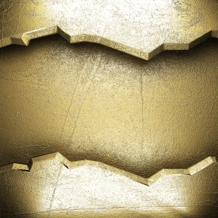golden background made in 3D Stock Photo - 16835782