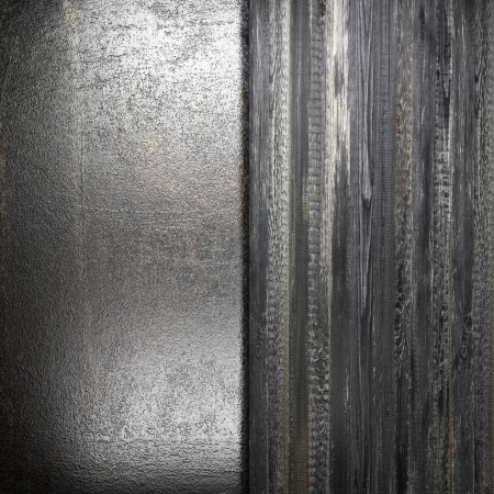 metal on wall made in 3d Stock Photo - 16835530