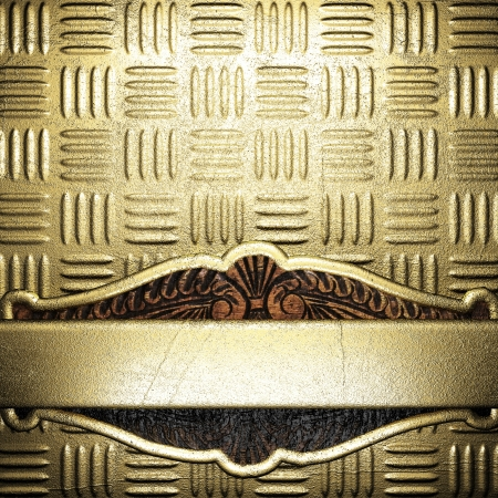 golden background made in 3D Stock Photo - 17284700