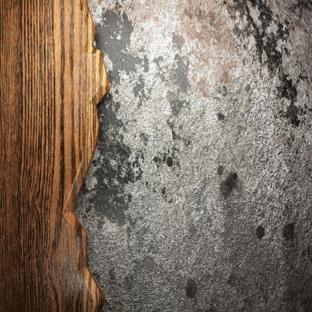 wood on wall made in 3D Stock Photo - 17417971