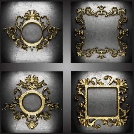 golden frames: golden frames set