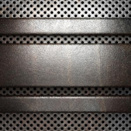 cromo: Fondo de metal