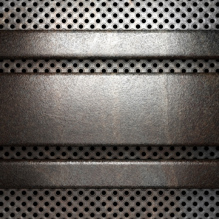 steel sheet: metal background