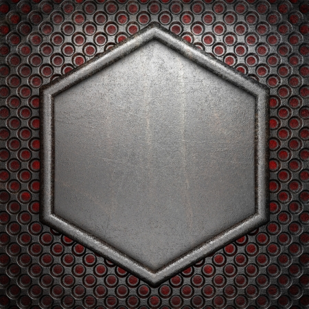 hot metal background Stock Photo - 20279439