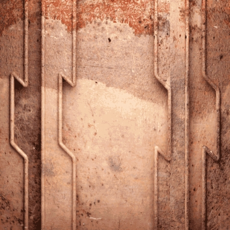 Old metal background Stock Vector - 20586705