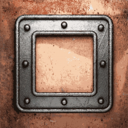 Old metal background Stock Vector - 20600601