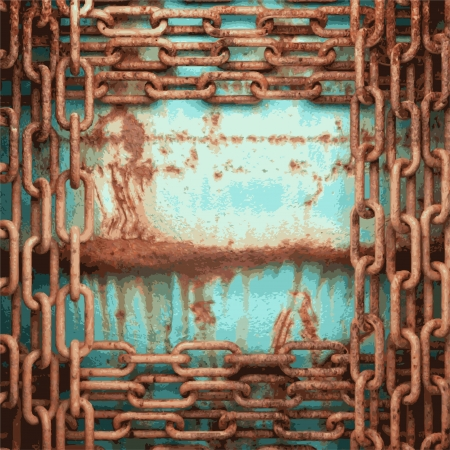 Old metal background Stock Vector - 20600605
