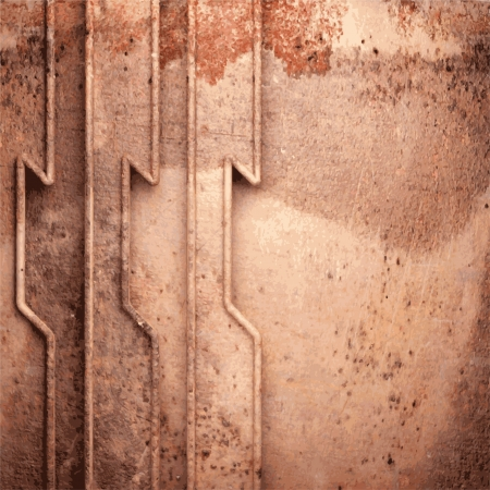 Old metal background Stock Vector - 20829110