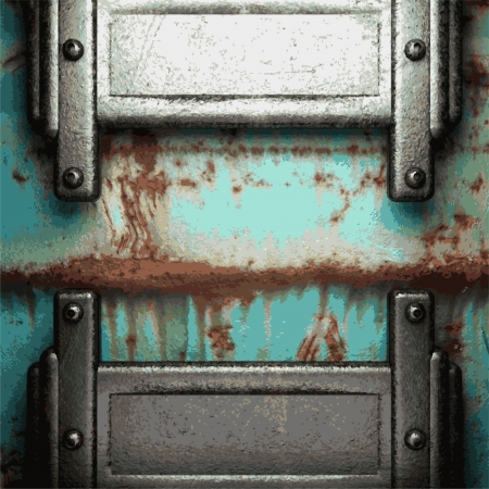Old metal background Stock Vector - 20924647