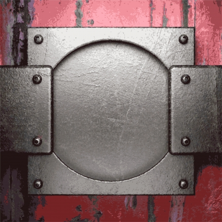 Old metal background Stock Vector - 20924774