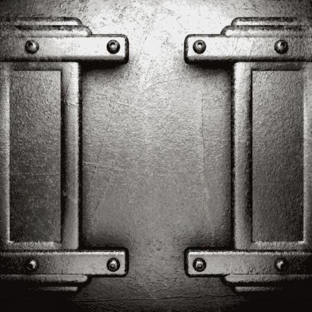 metal background Stock Vector - 21054233