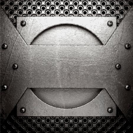 metal background Stock Vector - 21054238