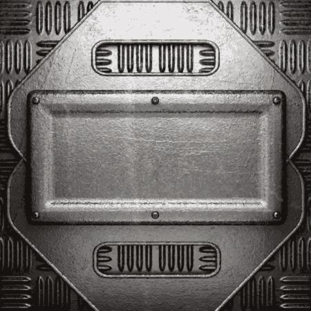 metal background Stock Vector - 21078183