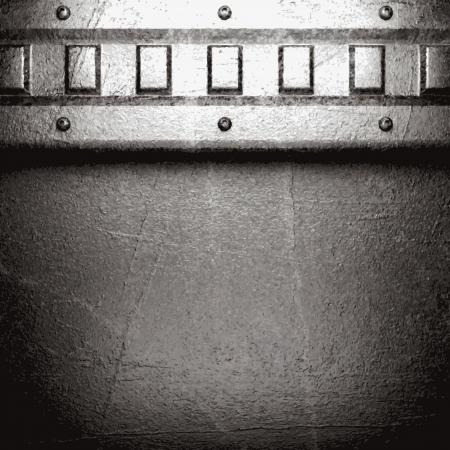 metal background Stock Vector - 21111174