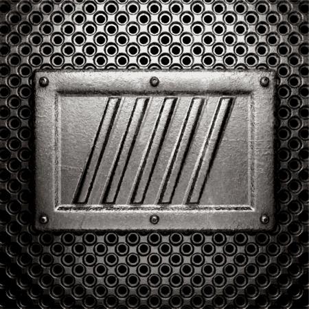 metal background Stock Vector - 21111183