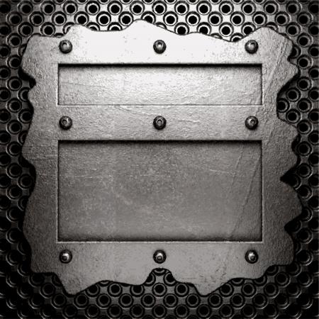 metal background Stock Vector - 21111187