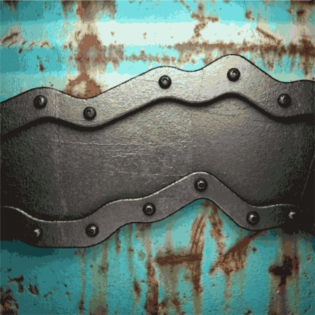 Old metal background Stock Vector - 21111202