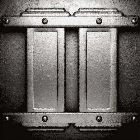 metal background Stock Vector - 21376515