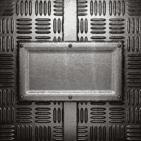metal background Stock Vector - 21376541