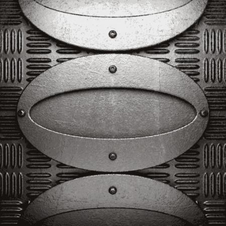 metal background Stock Vector - 21376546