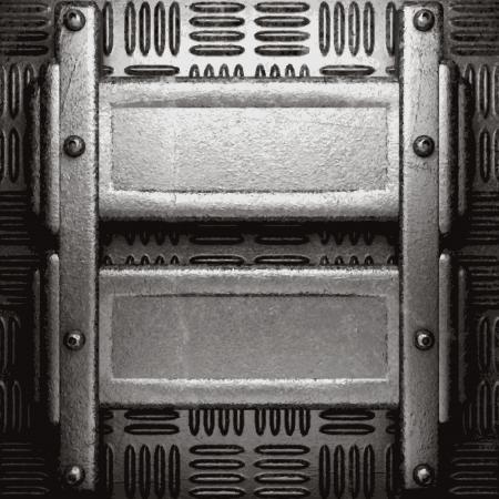 metal background Stock Vector - 21424007