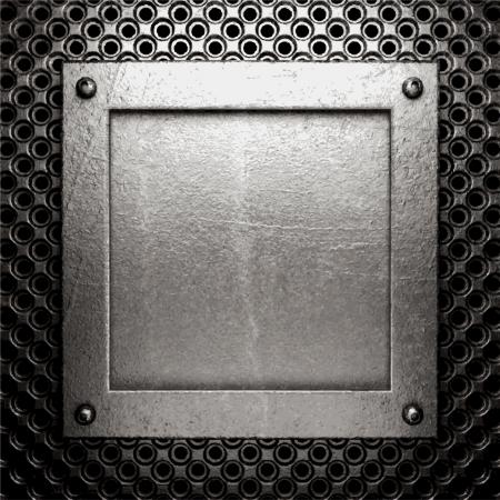 metal background Stock Vector - 21505098