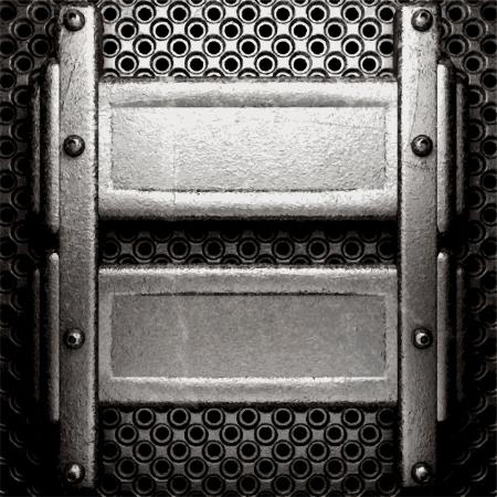 metal background Stock Vector - 21505100