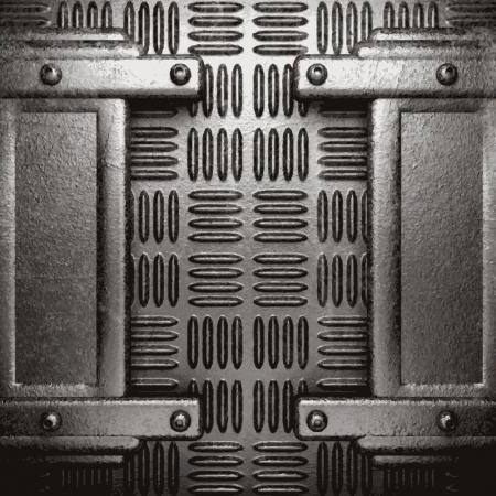 metal background Stock Vector - 21505105