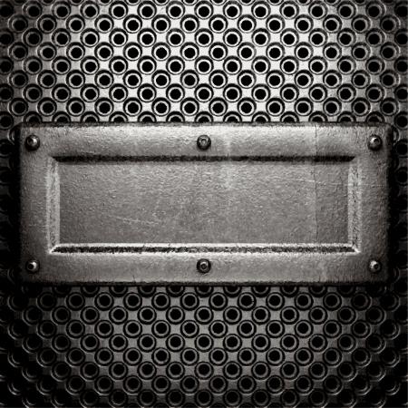 metal background Stock Vector - 21532679