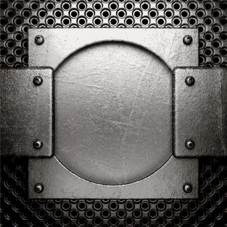 metal background Stock Vector - 21520884