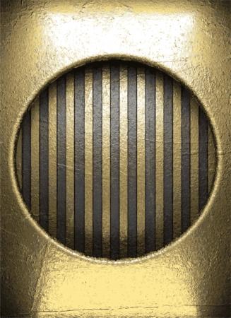 golden background Stock Vector - 22021312