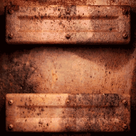 Old metal background Stock Vector - 22452302
