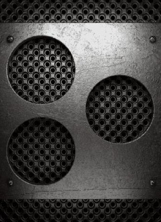 metal background Stock Vector - 22548442