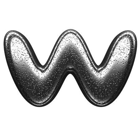 isolated metal figure photo