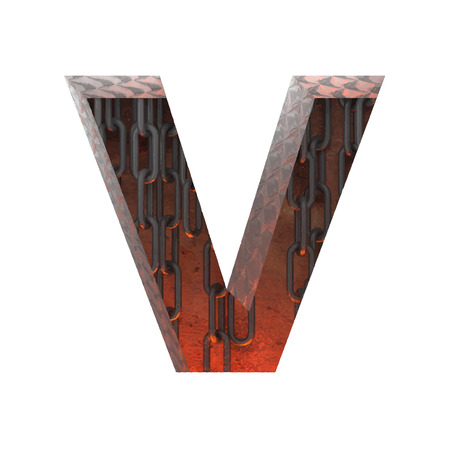 Vector hot metal cutted figure Vector