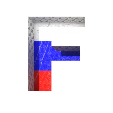derived: Vector Russian cutted figure  Illustration