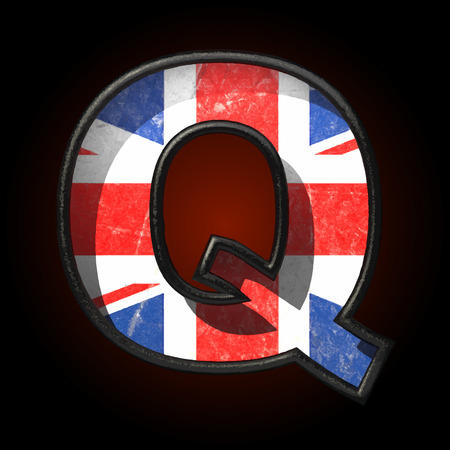 Vector Great Britain cutted figure Vector