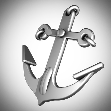 metallic anchor photo